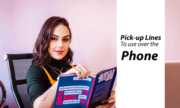 The Best Pick-Up Lines to Use Over the Phone Image