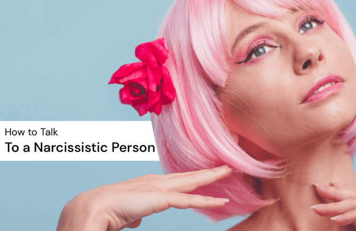 How to Talk to a Narcissist Image