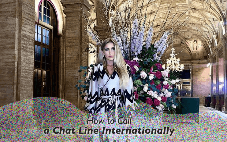 How to Call a Chat Line Internationally Image